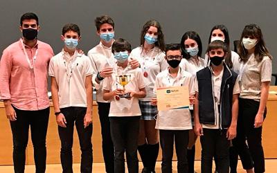 Nuestro Colegio recoge en la Escuela Técnica Superior de Ingeniería de Sevilla el Premio al Mejor Proyecto de Innovación del Certamen FIRST LEGO LEAGUE